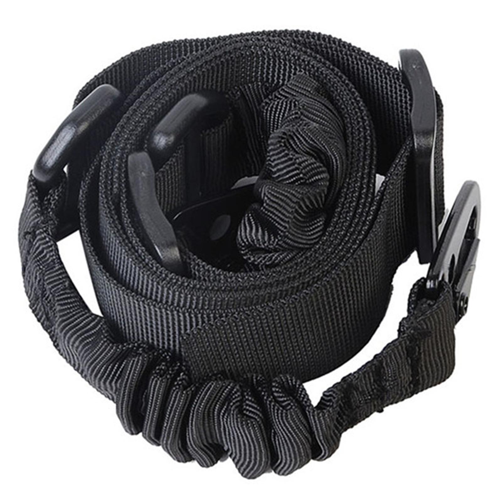 Двухточечный оружейный ремень полиции и спецназа (черный)