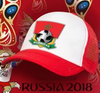 Двухцветная фанатская бейсболка Moroccan