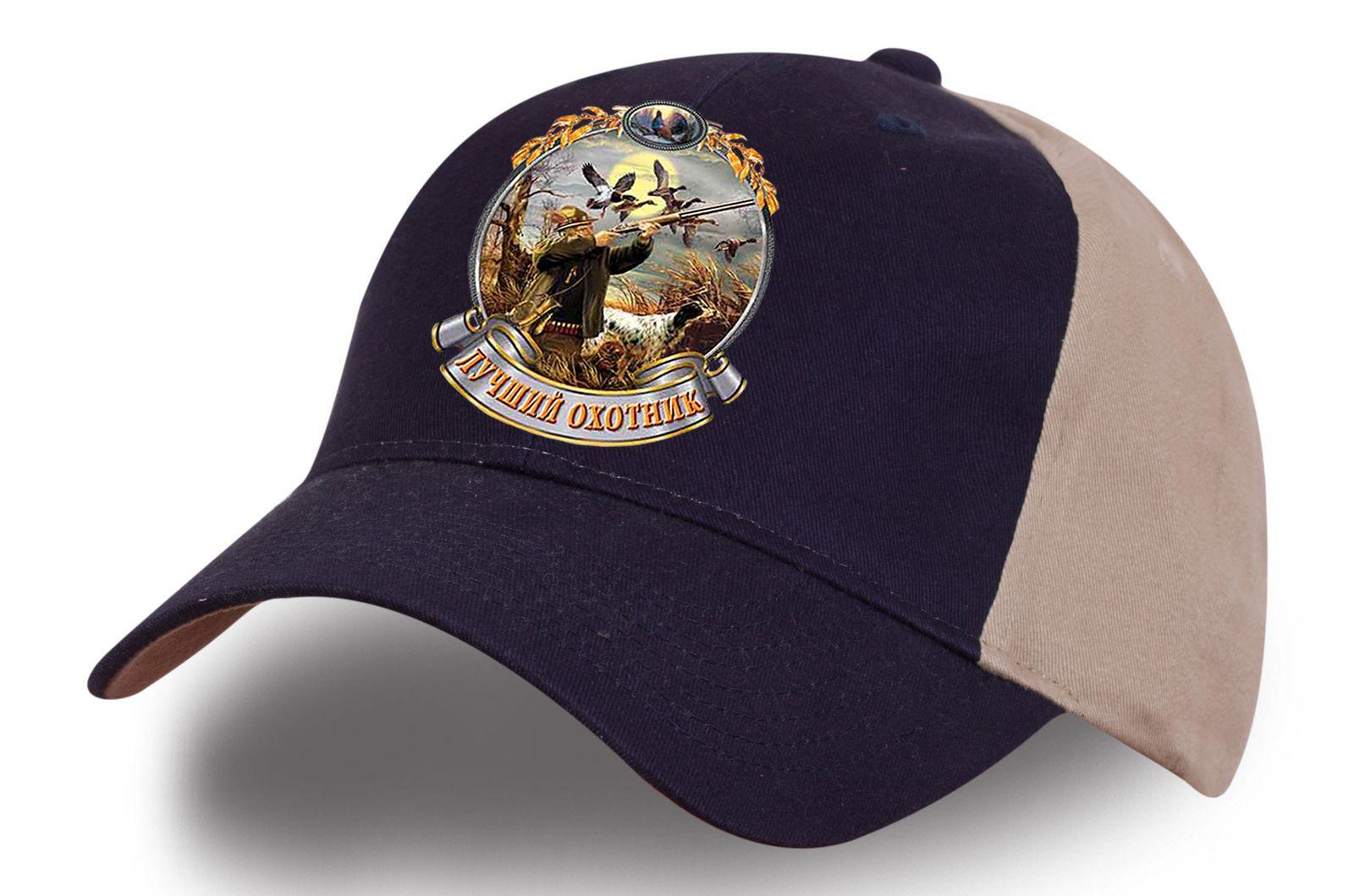 """Двухцветная кепка """"Лучший охотник"""" - купить по лучшей цене"""
