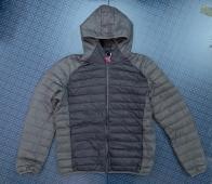 Двухцветная мужская куртка