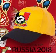 Двухцветная топовая бейсболка сборной Бельгии