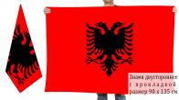 Двусторонний флаг Албании