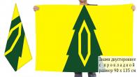 Двусторонний флаг Барышского района