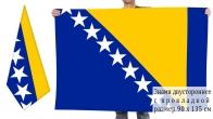 Двусторонний флаг Боснии и Герцеговины