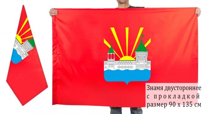 Двусторонний флаг Дзержинского
