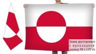 Двусторонний флаг Гренландии