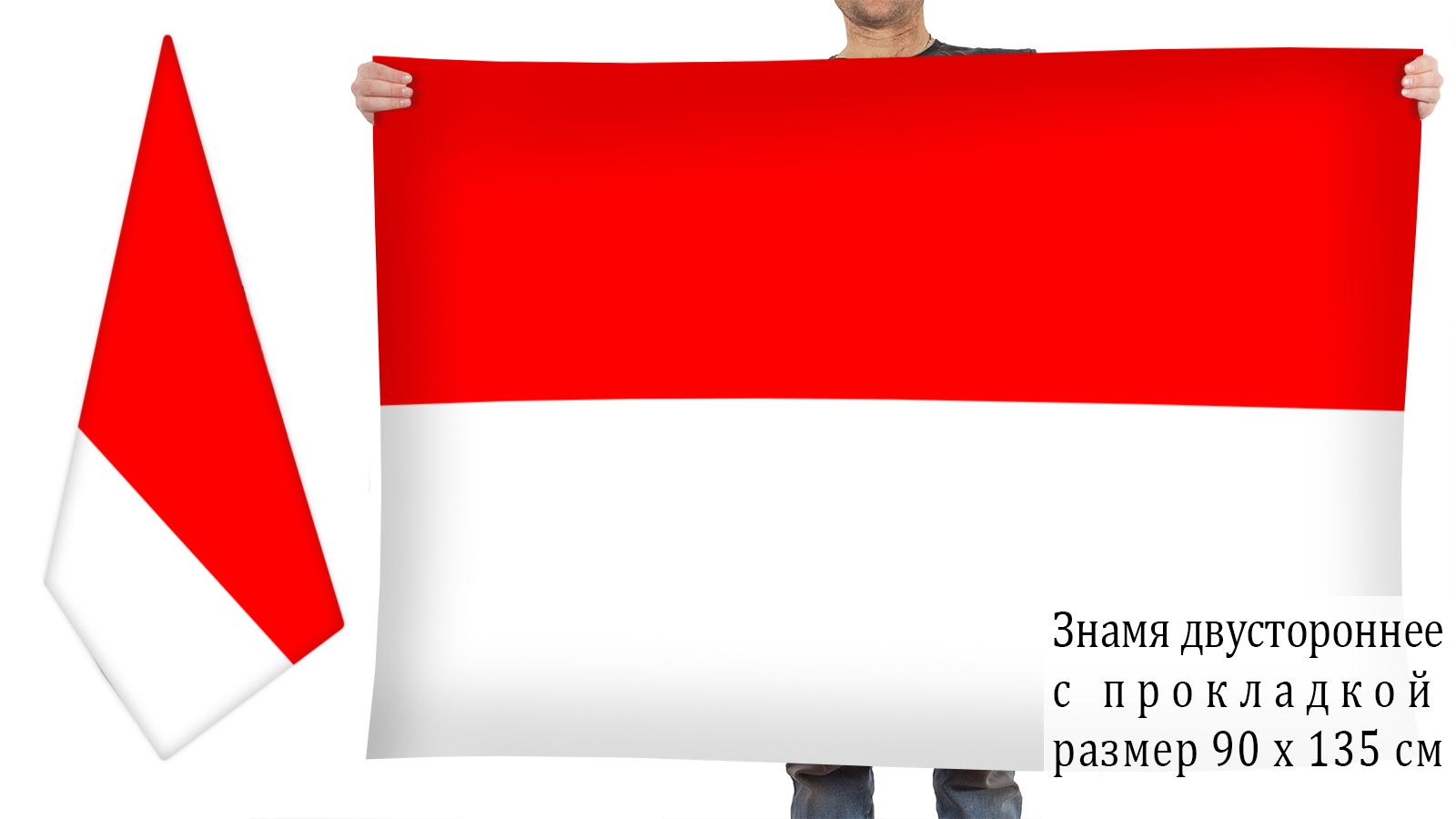 Двусторонний флаг Индонезии