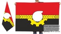 Двусторонний флаг Кемерово