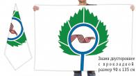 Двусторонний флаг Кольцово