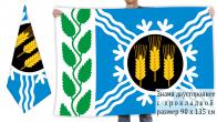 Двусторонний флаг Крапивинского района