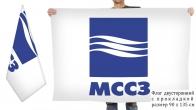 Двусторонний флаг МССЗ