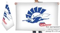 Двусторонний флаг НПЦ газотурбостроения Салют