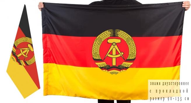 Двусторонний флаг с символикой ГСВГ