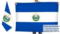 Двусторонний флаг Сальвадора