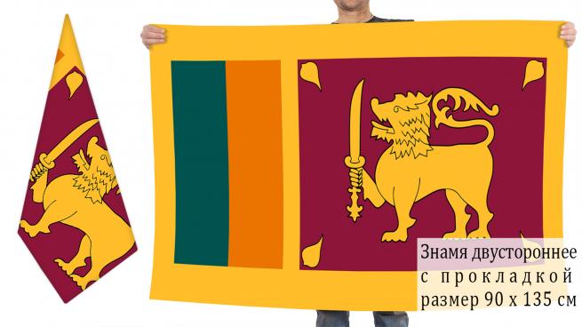 Двусторонний флаг Шри-Ланки