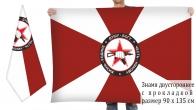 Двусторонний флаг спецназа ВВ МВД РФ