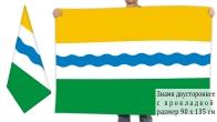 Двусторонний флаг Тевризского района