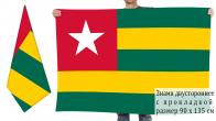 Двусторонний флаг Того