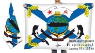 Двусторонний флаг ВМФ Краснознамённый Тихоокеанский флот