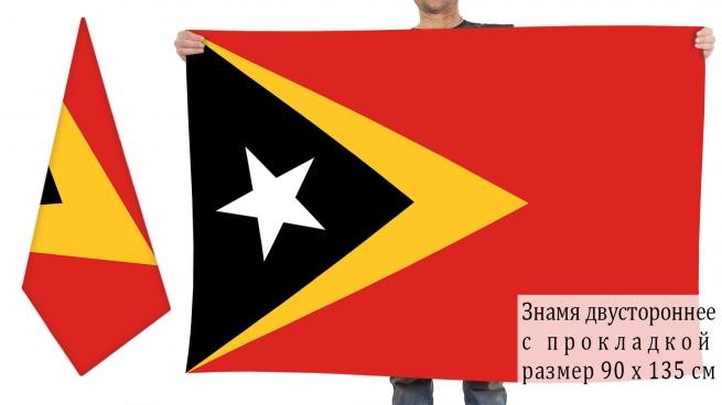 Двусторонний флаг Восточного Тимора