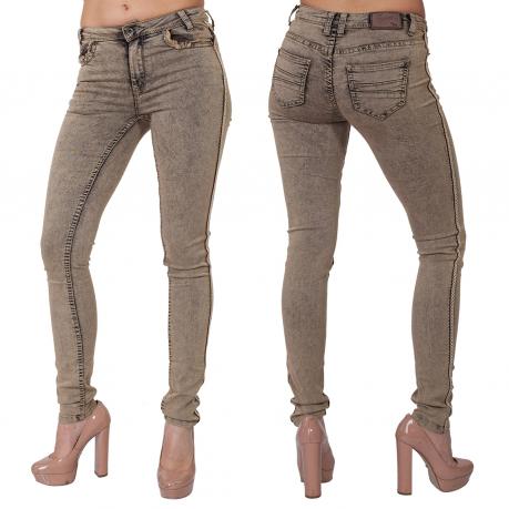 Стильные женские джинсы скинни NoName.