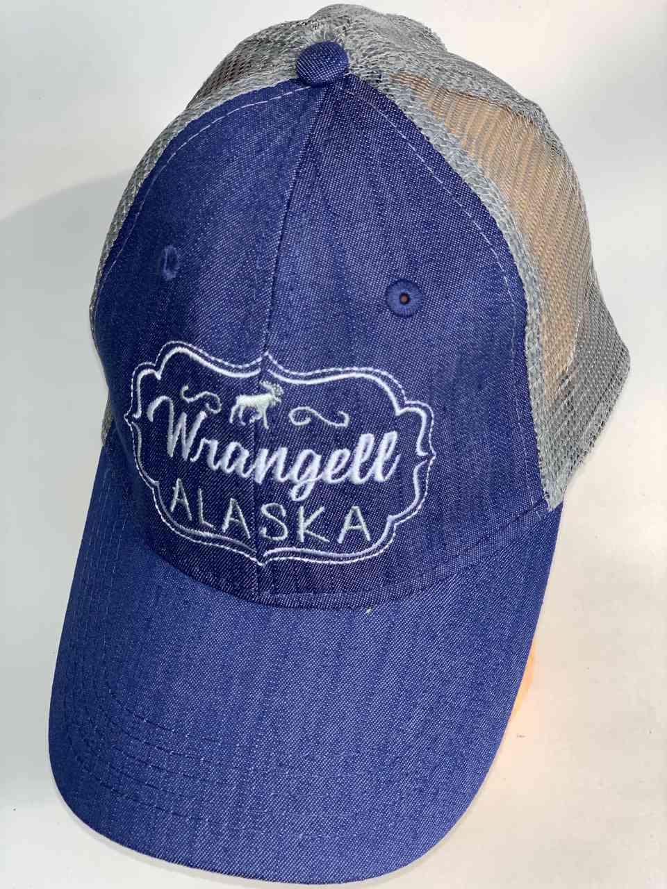 Джинсовая бейсболка Wrangell Alaska