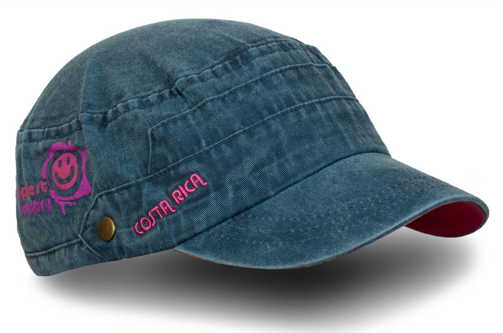 Джинсовая кепка Costa Rica - купить по низкой цене