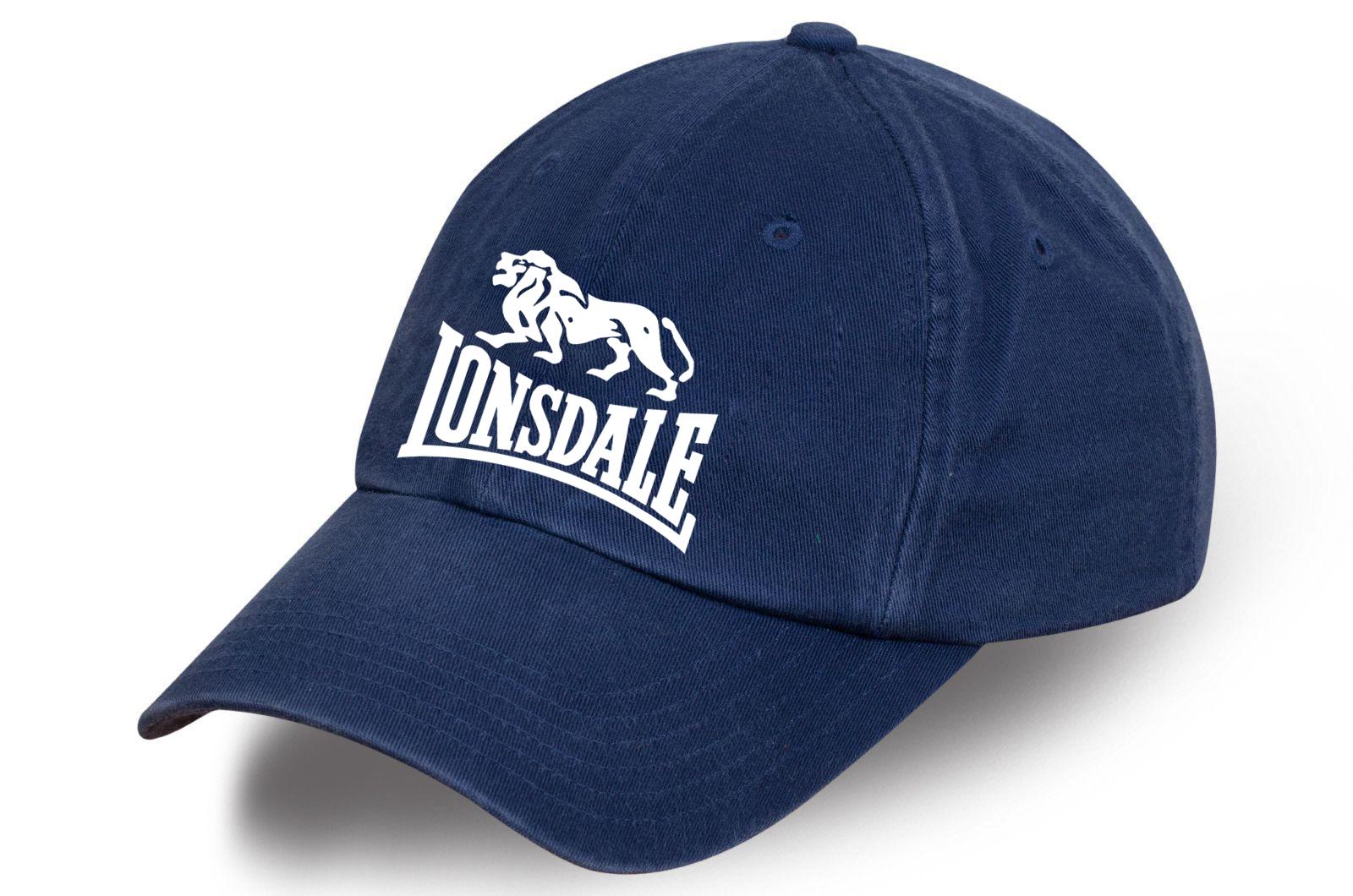 Джинсовая кепка Lonsdale