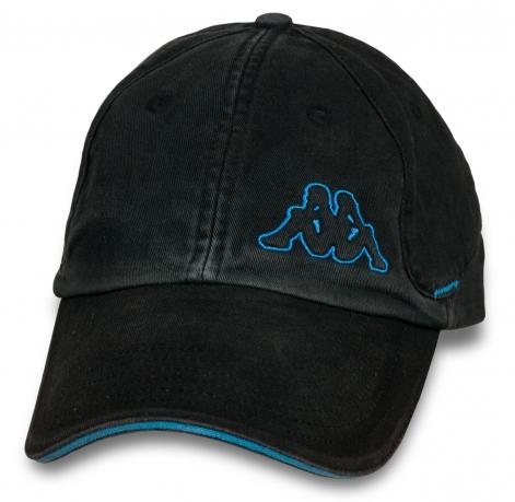 Джинсовая кепка с дизайнерской вышивкой