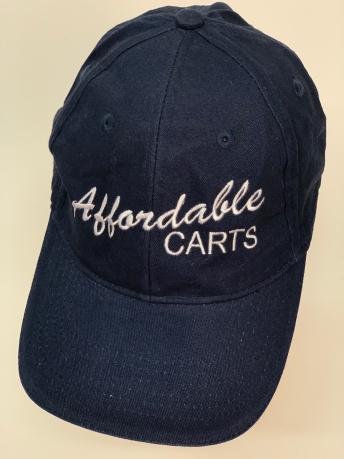 Джинсовая кепка с принтом Affordable carts
