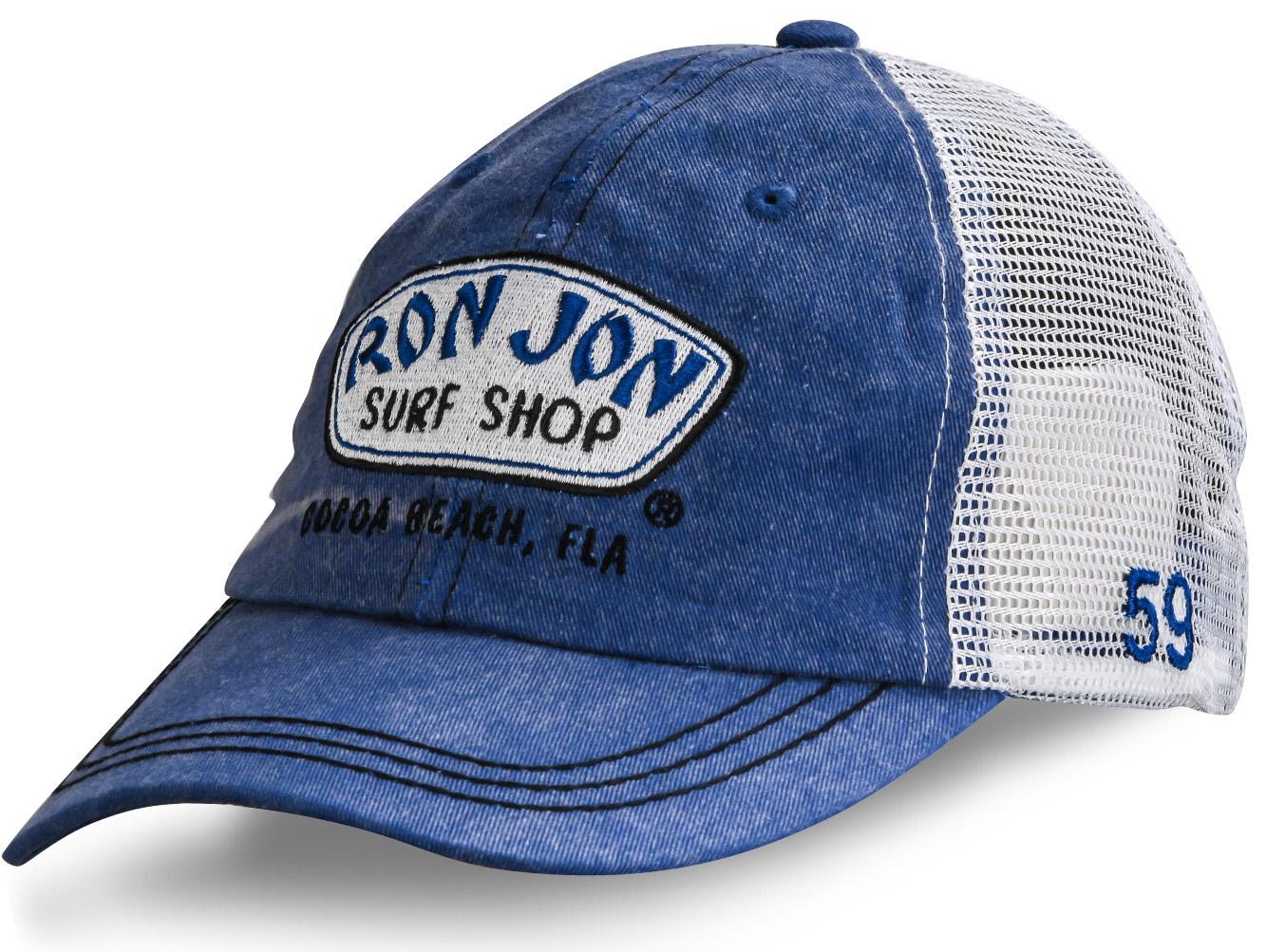 Джинсовая кепка с сеткой - купить в интернет-магазине с доставкой