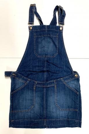 Джинсовая юбка сарафан для беременных