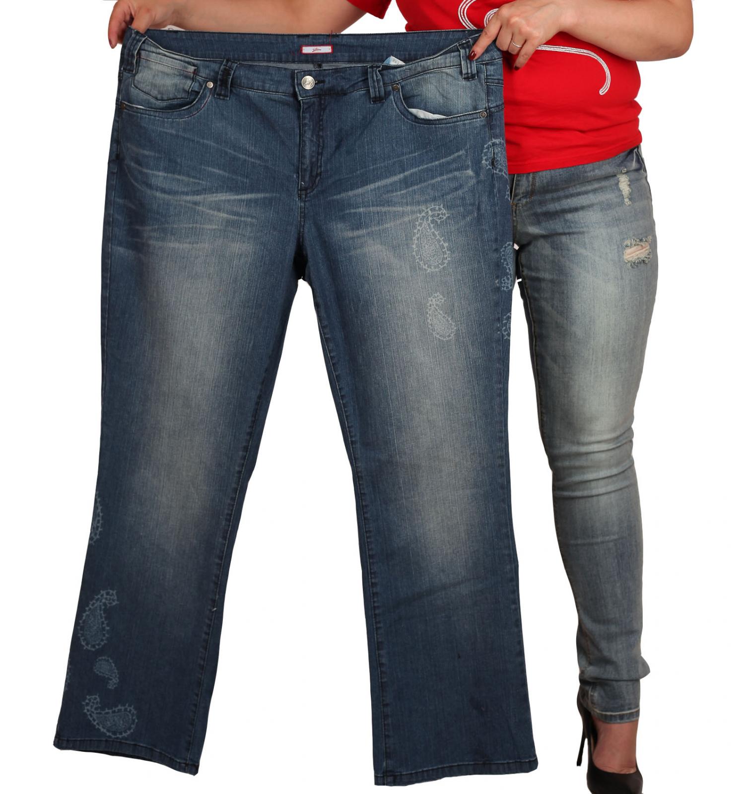 Джинсовые брюки Joe Browns (Великобритания) для полных женщин