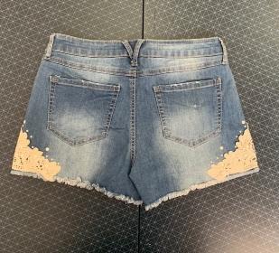 Джинсовые крутые женские шорты