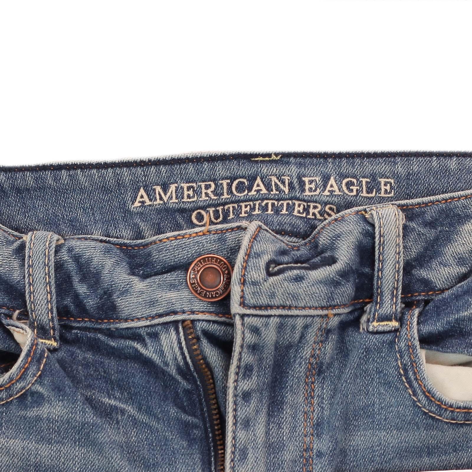 Модные женские джинсовые шорты 2017! Откровенный, но не пошлый калифорнийский ХИТ от ТМ American Eagle. СТАНЬ ИДЕАЛОМ!