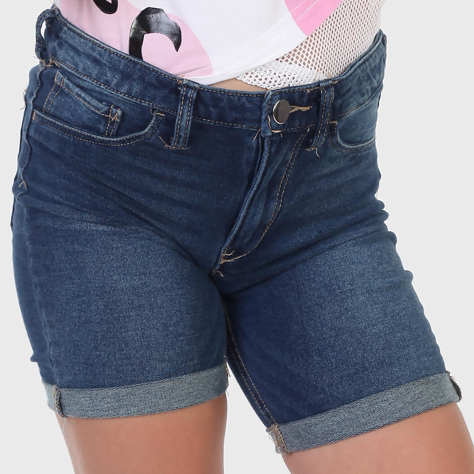 Джинсовые детские шорты для девочки