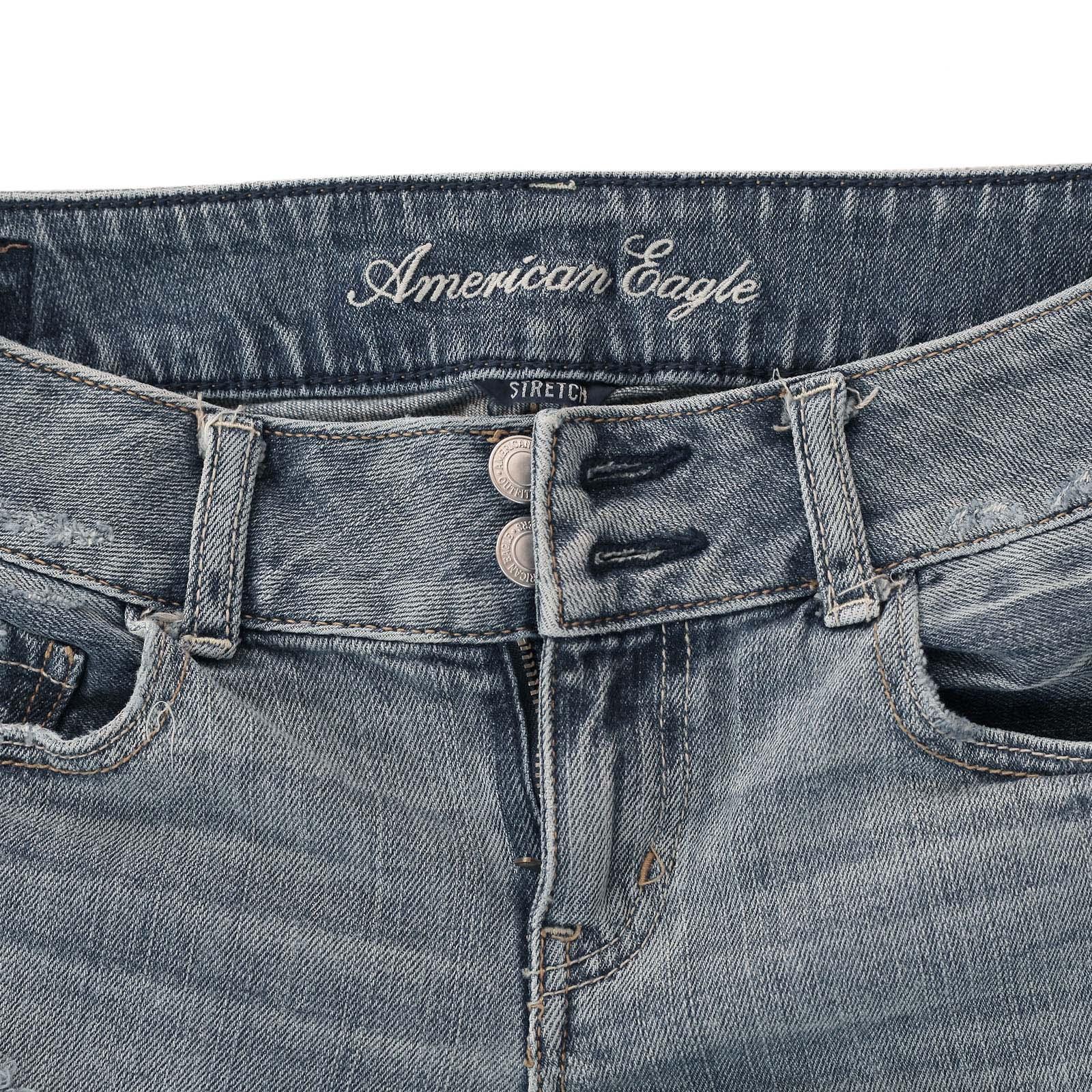 Джинсовые шорты от American Eagle должны быть у каждой модницы брендового качества
