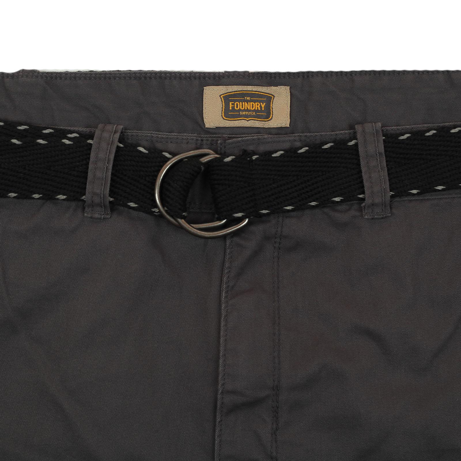 Мужские шорты большого размера от бренда Foundry