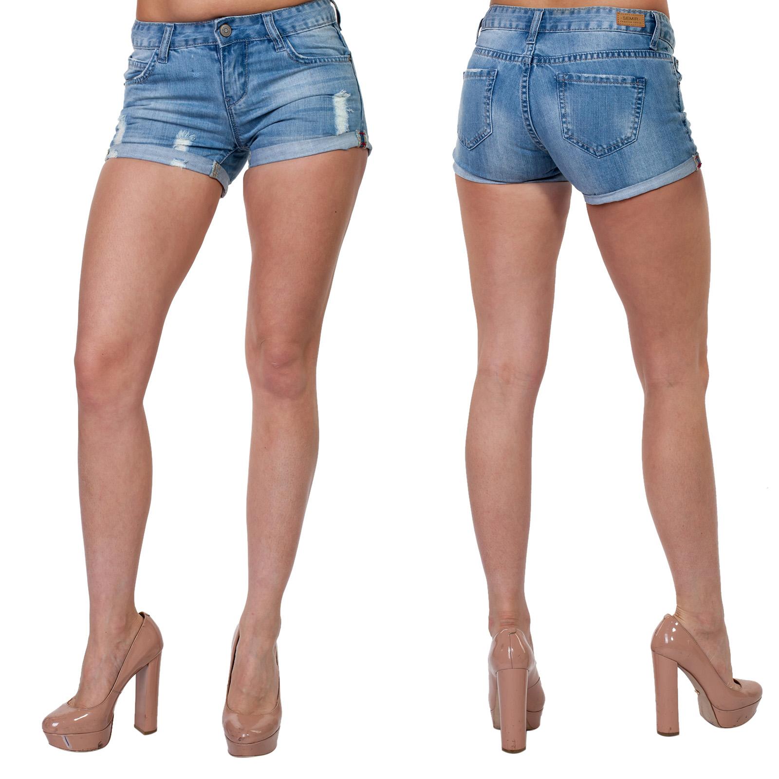 Джинсовые женские шорты Semir