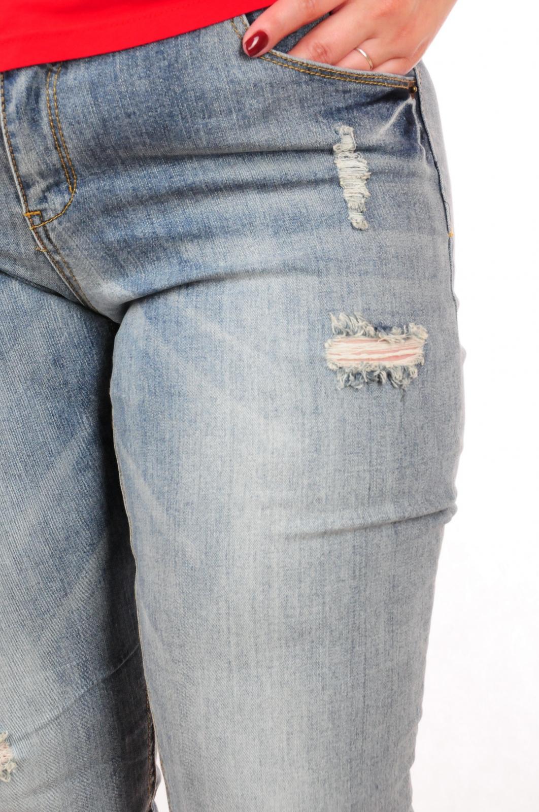 Рваные женские джинсы от ТМ H.i.S (Германия). ОРИГИНАЛ!