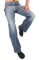 Широкие мужские джинсы «итальянцы»