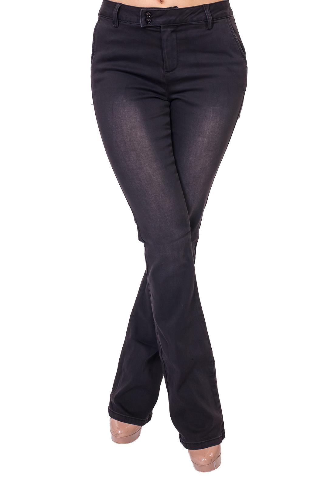 Культовый клёш! Черные женские джинсы Lpb.