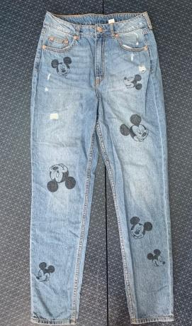 Джинсы мамс от Disney