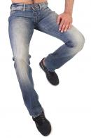 Классические мужские джинсы на пуговицах