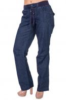 Спорт-ШИК от ТМ Arizona – женские oversize джинсы на резинке.