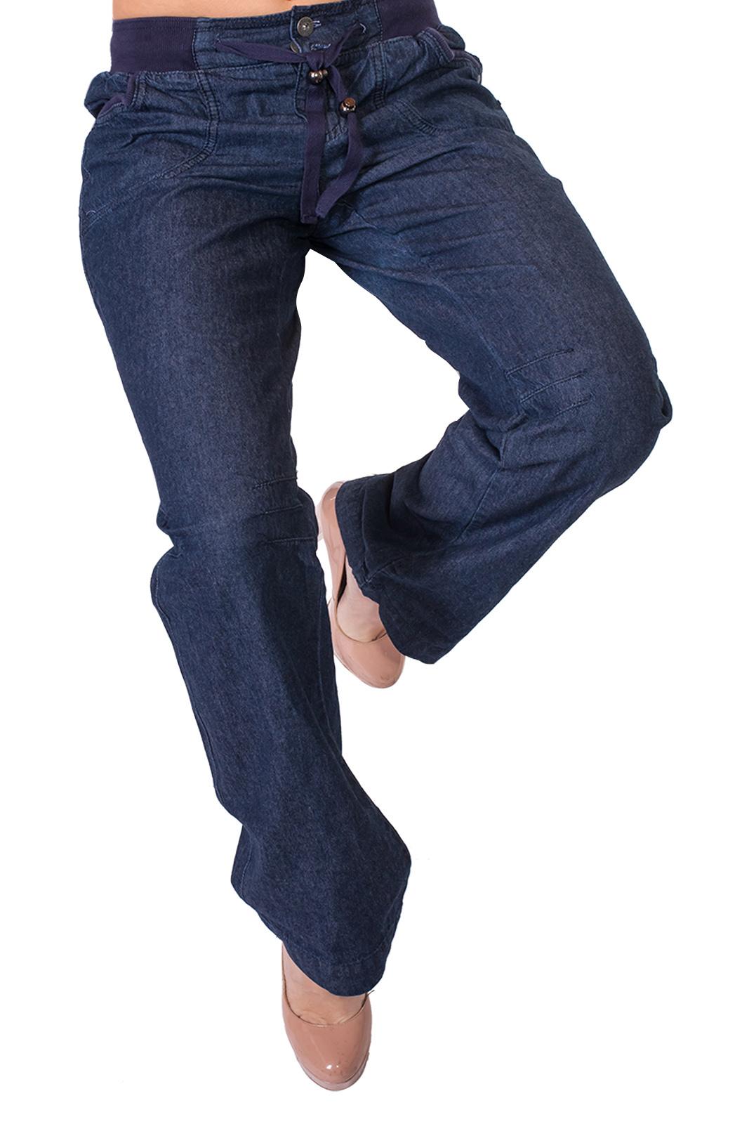 8eb54e5d484 Спорт-ШИК от ТМ Arizona – женские oversize джинсы на резинке.