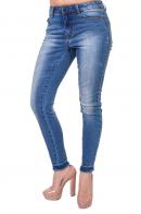Голубые джинсы скинни от ТМ Pieces, Англия.