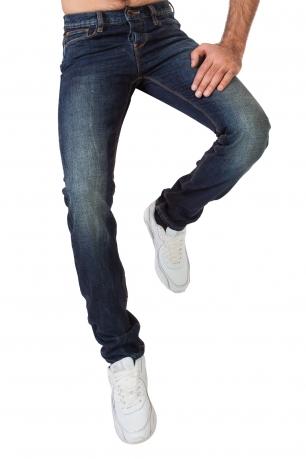 Стильные мужские джинсы-трубы от Armani Jeans.