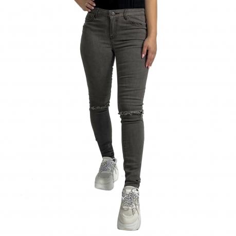 Женские джинсы Vila с дырками на коленях
