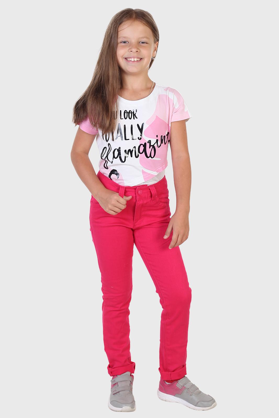 Купить джинсы для девочки от бренда Yigga